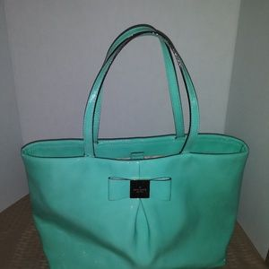 Kate Spade purse lime green